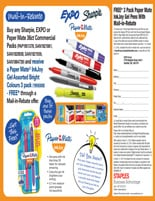 EXPO, Sharpie, Paper Mate, Ink Joy Coupons